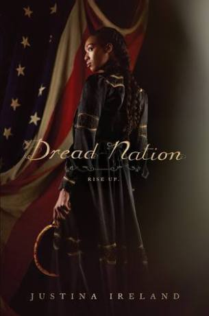 Orleans and Dread Nation book covers